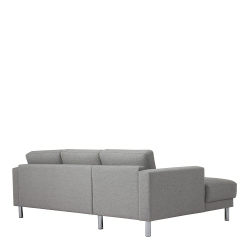Excellent Cleveland Chaiselongue Sofa Lh In Nova Light Grey Ncnpc Chair Design For Home Ncnpcorg