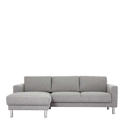 Fantastic Cleveland Chaiselongue Sofa Lh In Nova Light Grey Ncnpc Chair Design For Home Ncnpcorg