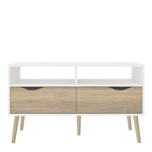 Oslo collection of furniture in white and oak