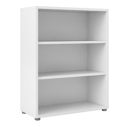 Outstanding Prima Bookcase 2 Shelves In White Home Interior And Landscaping Elinuenasavecom