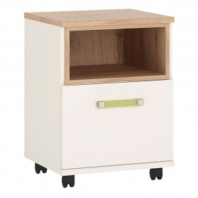 4KIDS 1 door desk mobile with lemon handles