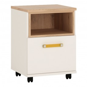 4KIDS 1 door desk mobile with orange handles