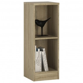 4 You Low Narrow Bookcase in Sonama Oak