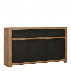 Havana 3 door 3 drawer sideboard