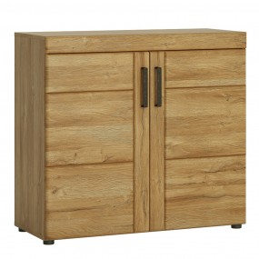 Cortina 2 door cabinet in Grandson Oak