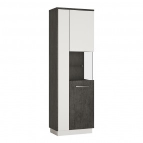 Zingaro Tall display cabinet (RH)