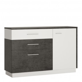Zingaro 1 door 2 drawer 1 compartment sideboard