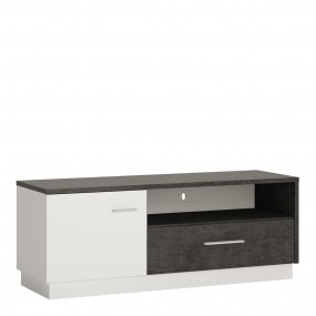 Zingaro 1 door 1 drawer TV cabinet