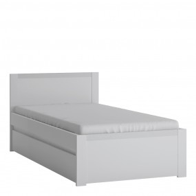 Novi 90cm Bed in Alpine White