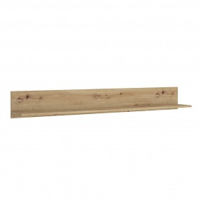 Luci 160 cm wall shelf in Oak
