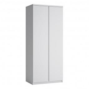 Fribo 2 door wardrobe in White