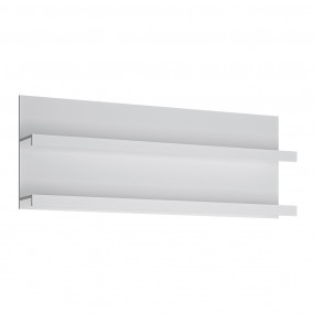 Fribo 166 cm wide wall shelf in White