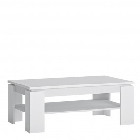 Fribo Large coffee table in White