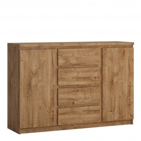Fribo 2 door 4 drawer sideboard in Oak