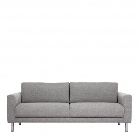 Cleveland 3-Seater Sofa in Nova Light Grey