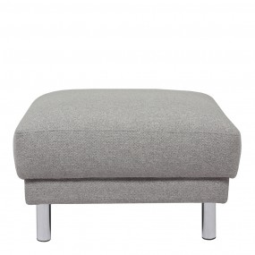 Cleveland Footstool in Nova Light Grey