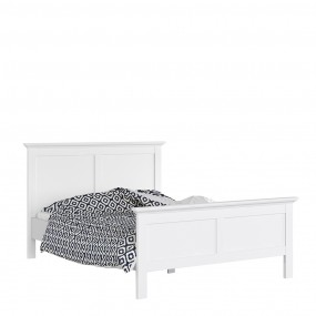 Paris King Bed (160 x 200) in White