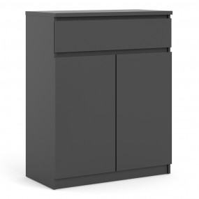 Naia Sideboard - 1 Drawer 2 Doors in Black Matt
