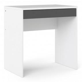 Function Plus Desk White Grey