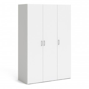 Space Wardrobe with 3 doors White 1750