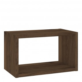 Roomers Wall Shelf Unit in Walnut
