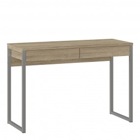 Function Plus Desk 2 Drawers in Oak - FSC Mix 70 % NC-COC-060652