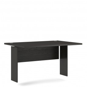 Prima Desk Top 120 cm in Black woodgrain