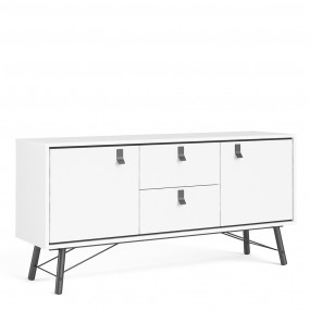 Ry Sideboard 2 doors + 2 drawers in Matt White