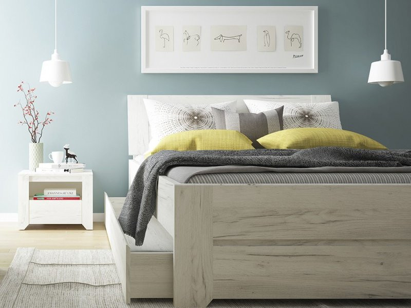 Angel white bedroom furniture collection