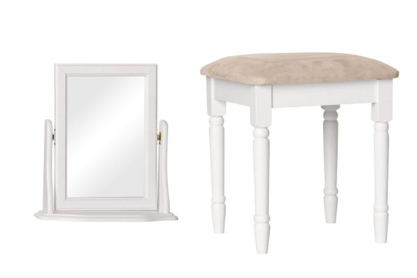 Stools and mirrors